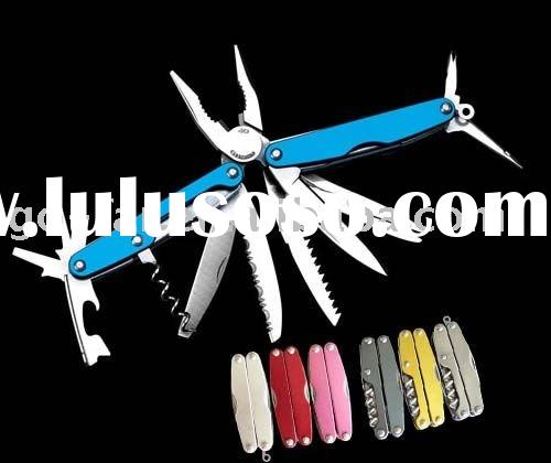 Multifunction tool with colorful handle