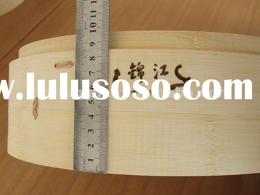 "Natural Bamboo food steamer for steam bread in stock,6""7""8""9"""