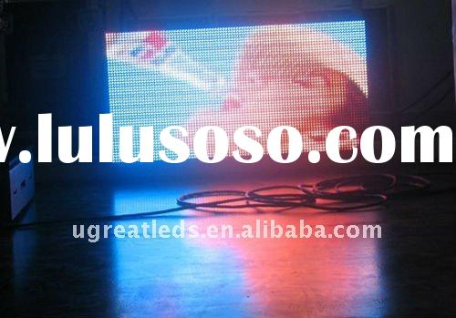 P8 indoor full color advertising led video wall