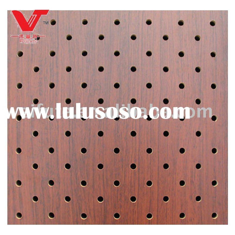 Perforated Acoustic Wall Panel