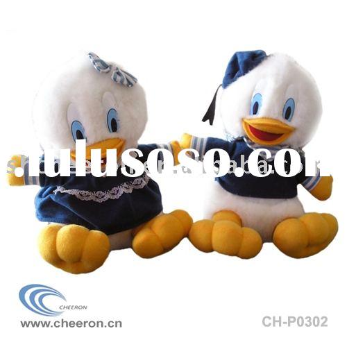 Plush duck toys,stuffed duck toys,soft duck toys in clothes