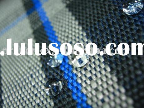 Polyester YARN DYED oxford FABRIC with PU coated