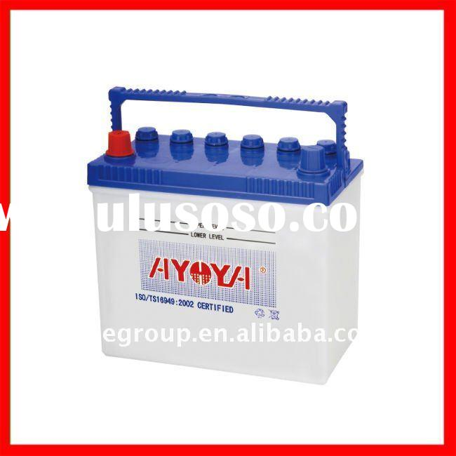 Professionally Manufacturing And Exporting High Quality JIS Standard 12V Dry Charged Lead Acid Car B