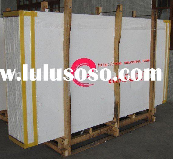 Pure White Nano Crystallized Glass Panel Artificial Stone