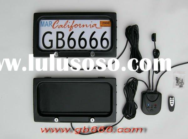 Remote control Car number plate frame (cover)