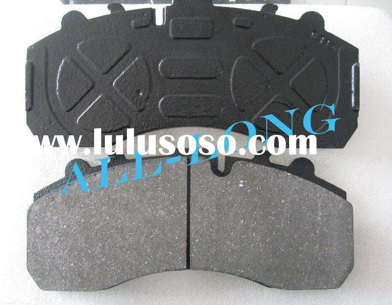 Truck Brake Pad (WVA 29108,29061,29087) with Cast Steel Backing Plate