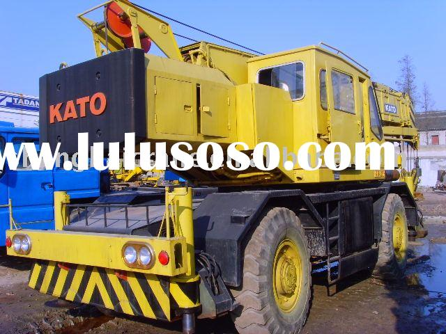 Used Truck Crane KATO KR250 25ton in good working condition