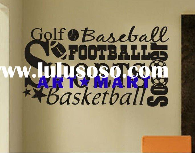 Vinyl Wall Words Quotes Decals Art Collage Sports NO.245