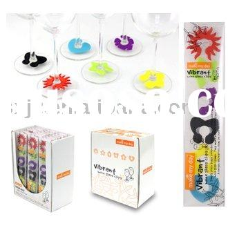 Wine Glass Markers, Wine Glass Clip,Wine Charm