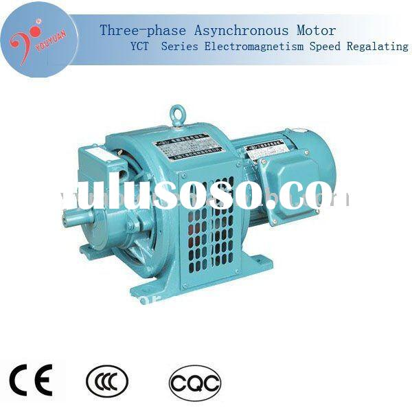 YCT series three phase permanent magnet 4kw electric 150hp motor with armature