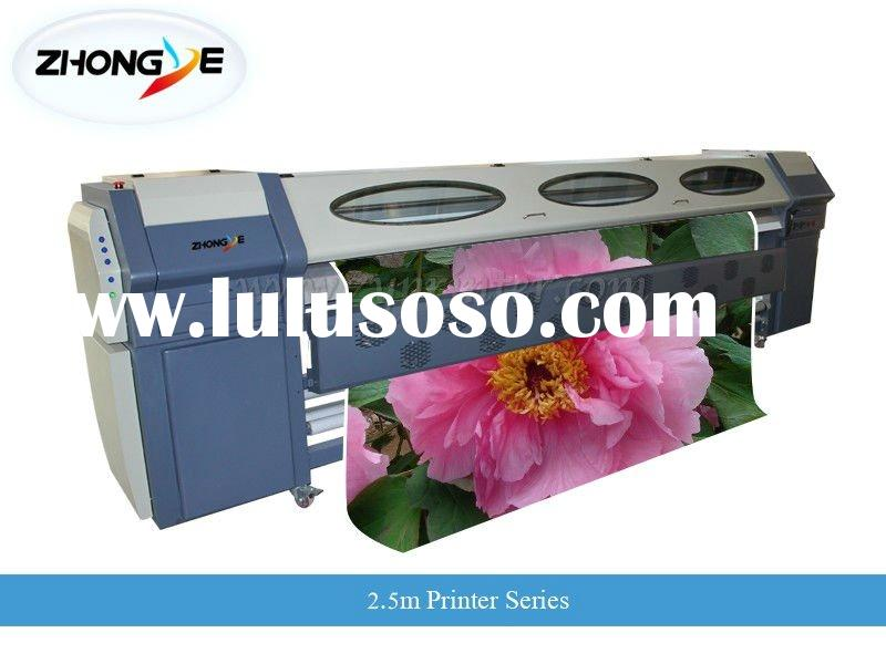 ZY-3200 series solvent printer with SPT print heads