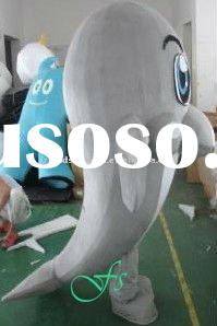adult mascot dolphin costume