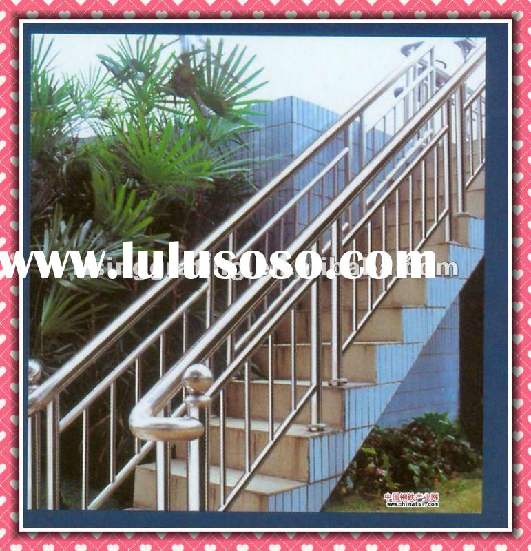 galvanized or painted Ball-Joint handrail low carbon steel or stainless steel tube