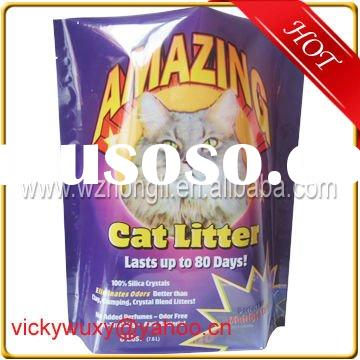high quality stand up plastic resealable Pet(dog cat) food bag