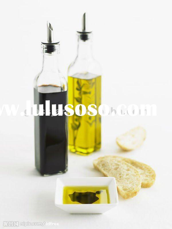 popular nice fashionable environmental fantastic high quality beautiful clear glass oil bottle