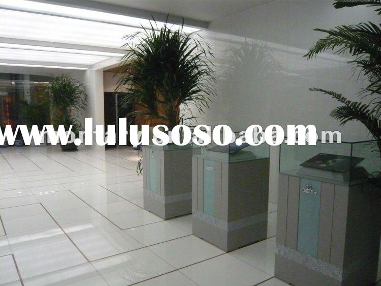 pure white non porous nano artificial stone(crystallized glass panel) for decorative