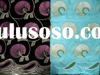 voile african lace fabric fsl-118-11