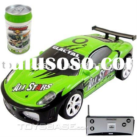 1:58 Coke Can Mini RC Radio Remote Control Micro Racing Car