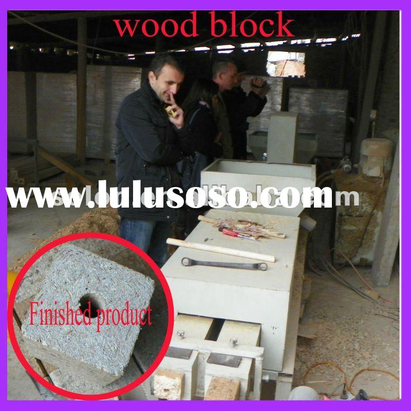 2012 Excellent Quality Wood Pallet Block Making Machine
