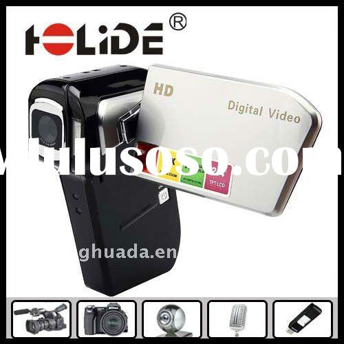 2012 Hot sale multifunctional hd video digital camcorder,max 12Mega pixels,with 2.4inch LCD/Support
