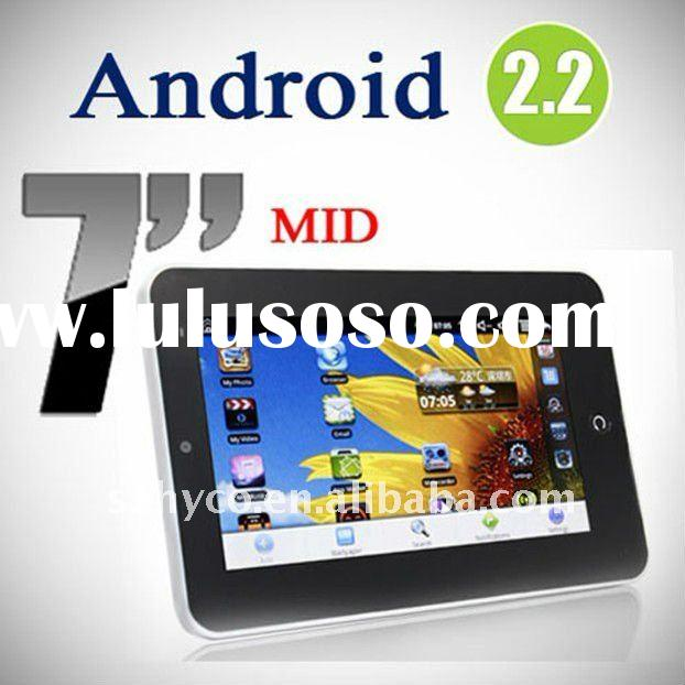 7 inch GSM phone call android 2.2 all mini laptop model