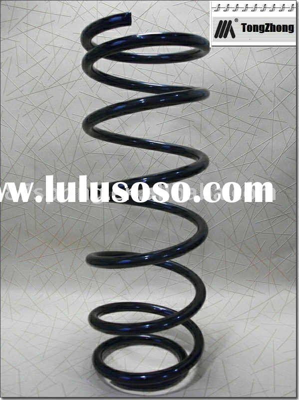Auto damping coil spring