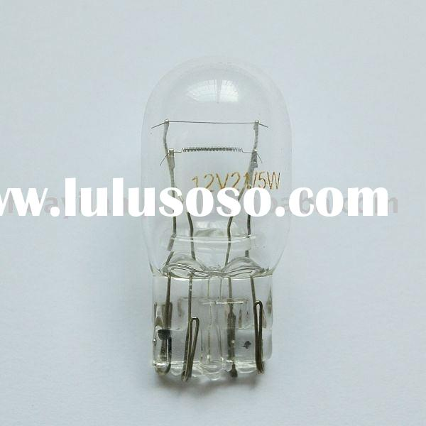 Automotive Light Bulb 7443, miniature car bulb, auto lamp 12V21/5W