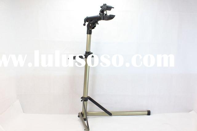 Bike Hand Alloy Head Rotated Adjusted Bicycle Repair Stand