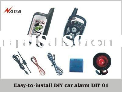 CAR SECURITY TWO WAY DIY CAR ALARM SYSTEM
