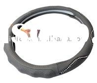Cars accessories:Steering Wheel Cover with crystal Bling 1238