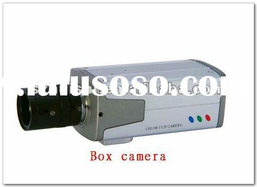 Color ccd video security box camera