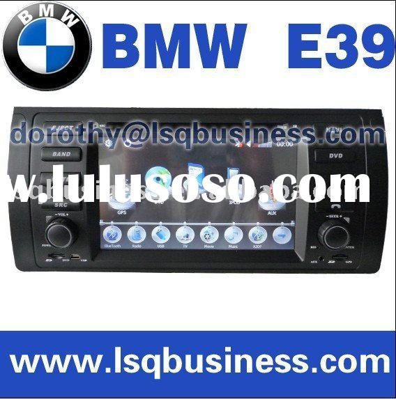 E39 Car DVD player with GPS, bluetooth,IPOD,CDC, steering wheel contro, E-book function