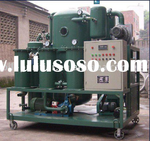 Engine Lubricant Oil Dehydration Machine , Car Oil Cleaning Device