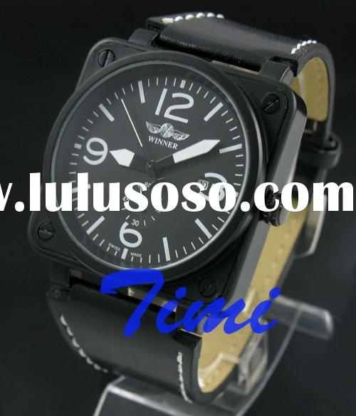 FASHION TREND MENS/BOY AUTO MECHANICAL DESIGNER WATCH