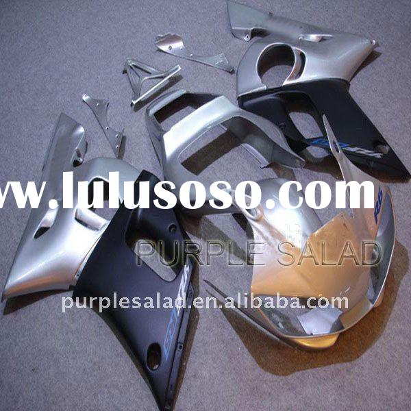 For Yamaha YZF-R6 98-02 High Quality Fairing Kit Sliver + Heat-Shield Technology + Japan Original Mo