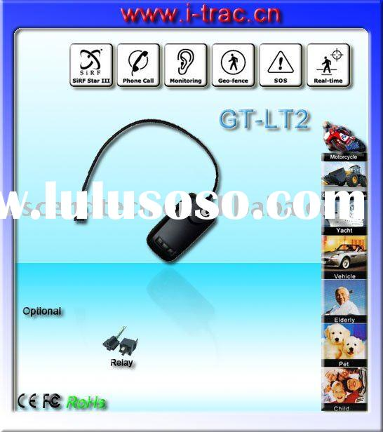 GPS Vehicle Tracker for car with built in antenna and support online gprs web based tracking softwar