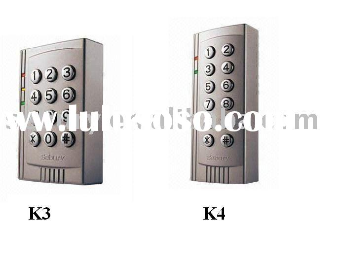 Mini Keypad Door Access Control System/ RFID Card Reader K3 & K4