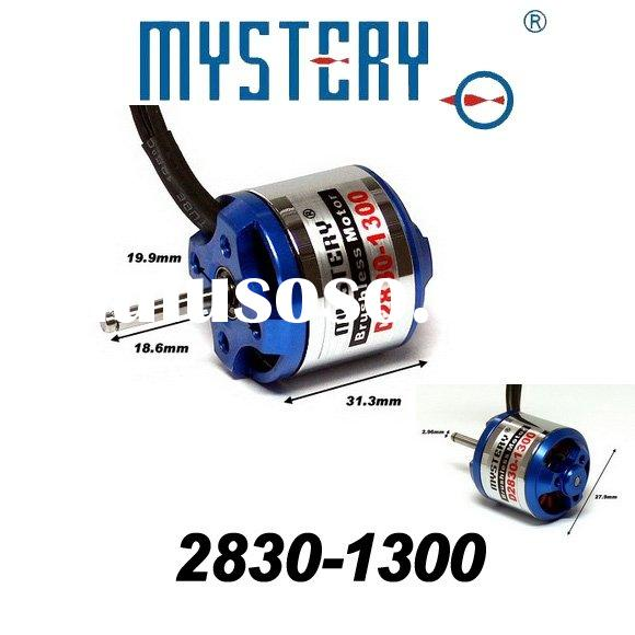 Mystery 1300kv Outrunner Brushless Motor for RC helicopter,2830-1300