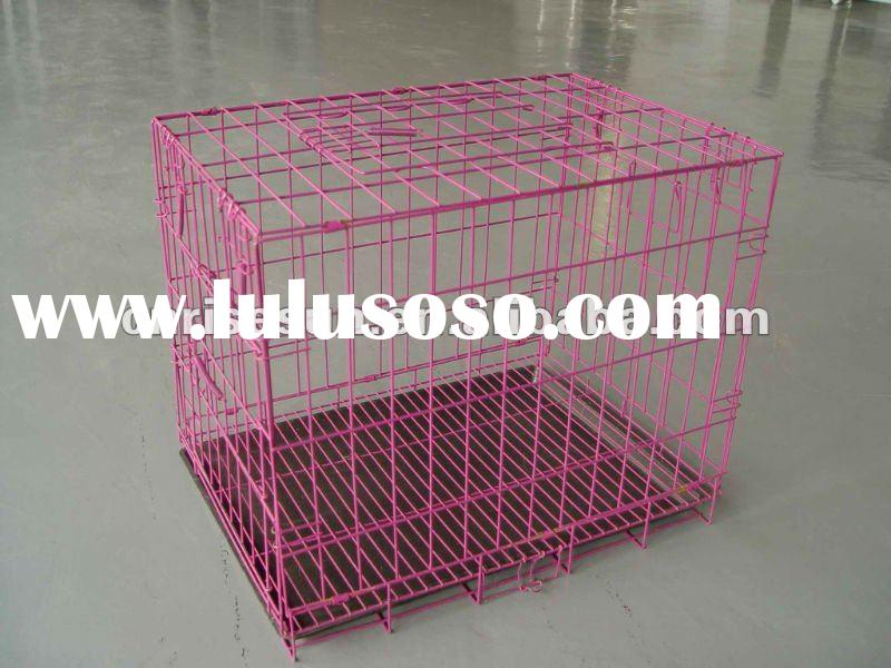 Giant Breed Folding Wire Dog Crate  Doors
