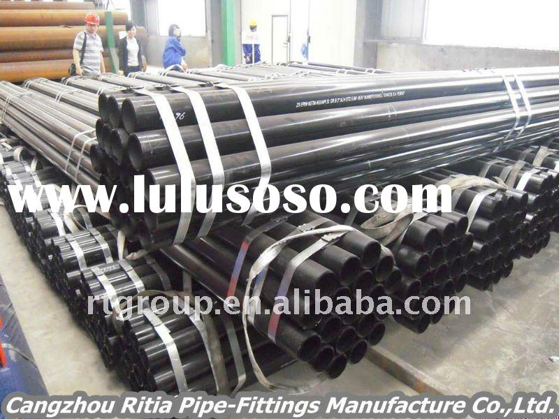 Q235/A106/A53 steel casing pipe factory/SCH 40 mild steel pipe/erw or smls steel casing pipe manufac
