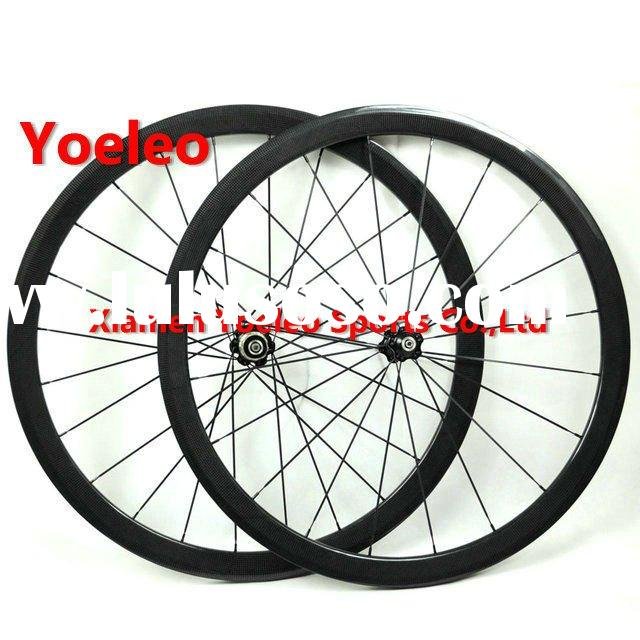 Road Bike Wheels,700C Carbon Road Bike Clincher Wheelset 38mm