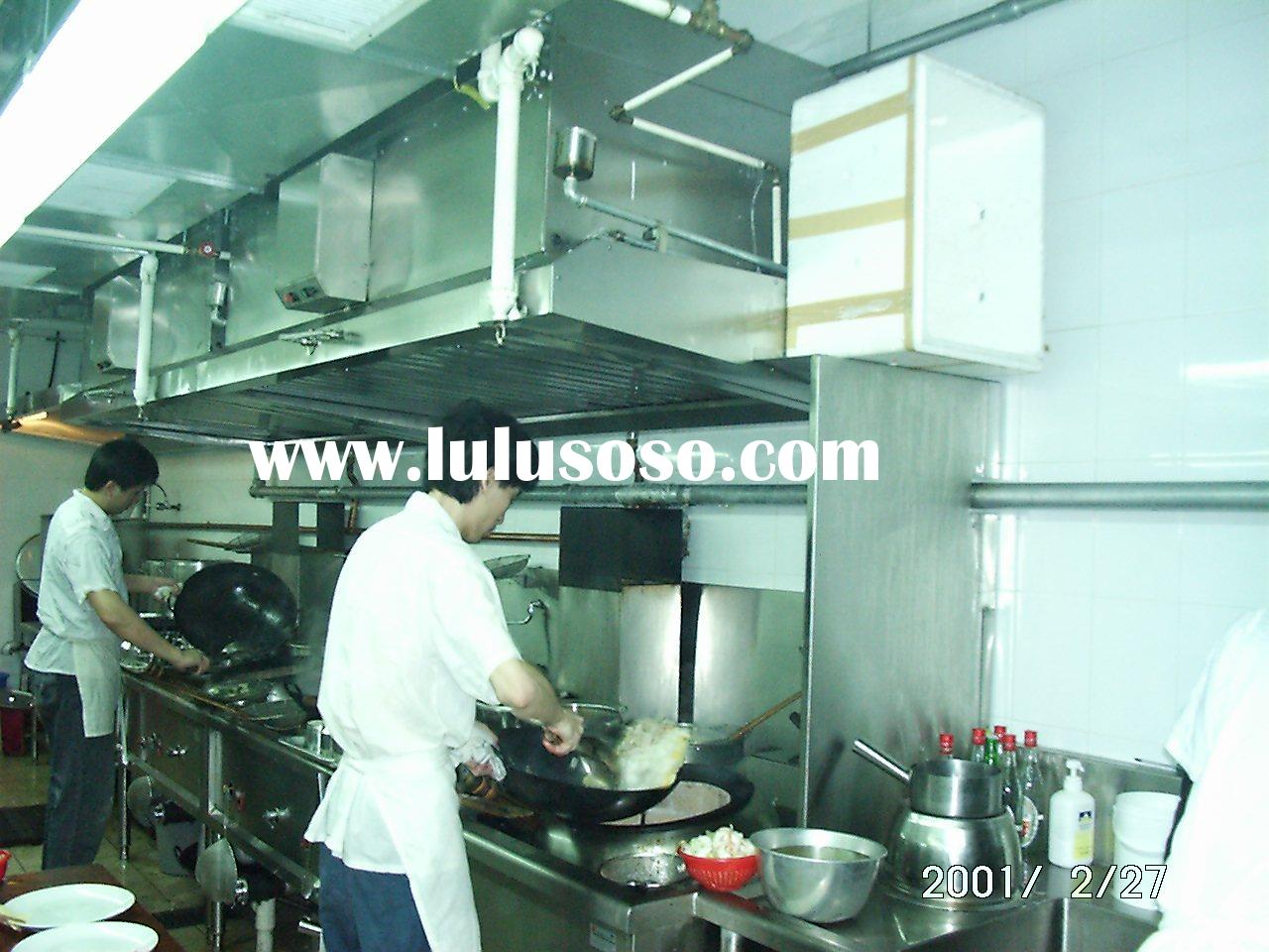 Smoke Elimination Chimney Hood with Electrostatic Air Cleaning Filter