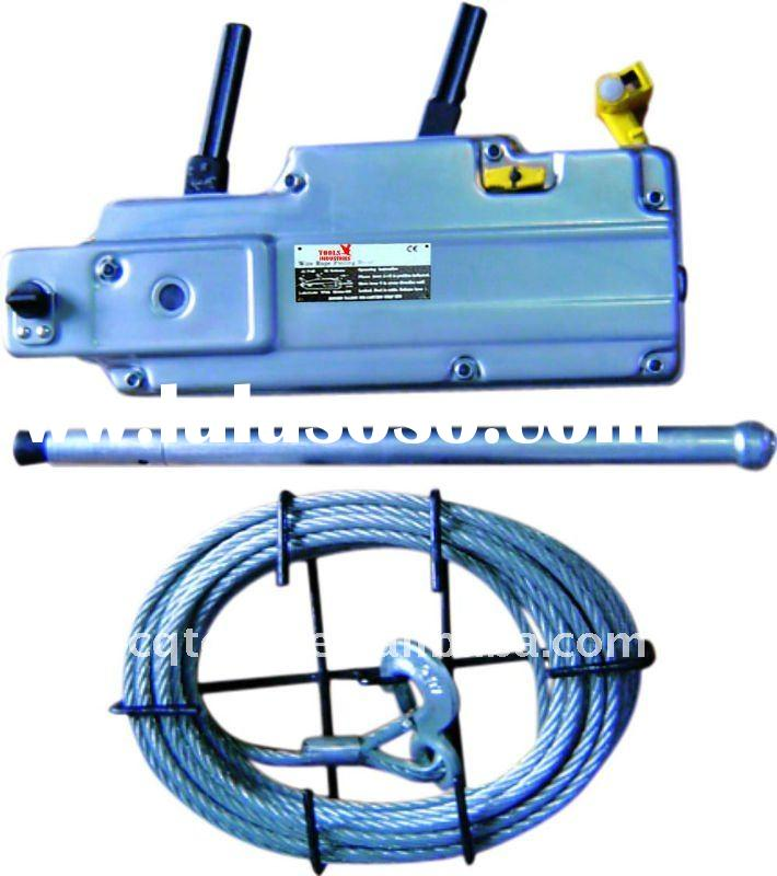 Tractel-Type Wire Rope Puller(iron housing)