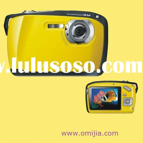 Waterproof digital camera 5.0MP CMOS, interpolated to 16MP-720P video recording&shockproof(TDC-5