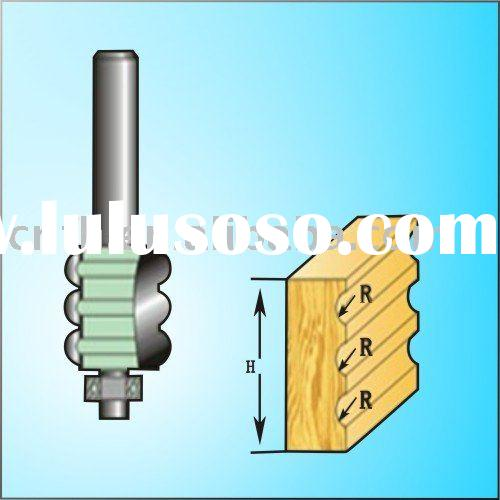 Woodworking Router Bit With Bearing For Carving(Multi-fluting Bit)