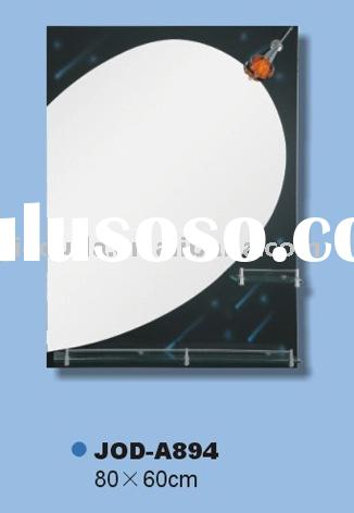 hot selling house silver black blue wall mirror