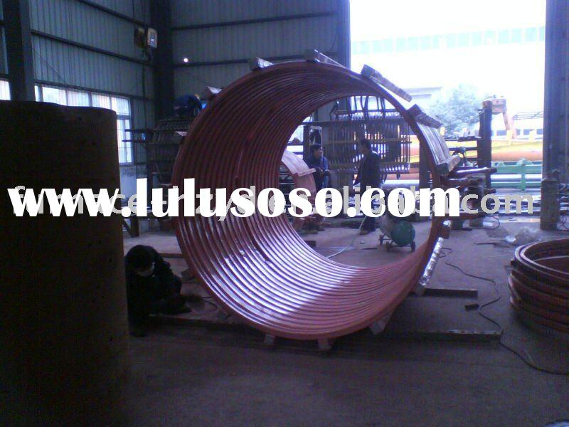 medium frequency induction coil