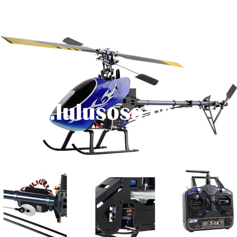 rc helicopter 6ch; trex 450 pro kit; 2.4ghz carbon rc helicopter RTF