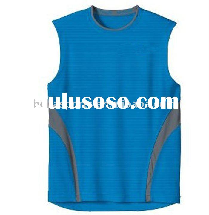 sleeveless royal bicycle sets/top/tee shirt/jersey coolmax dry fit material,casual design round neck