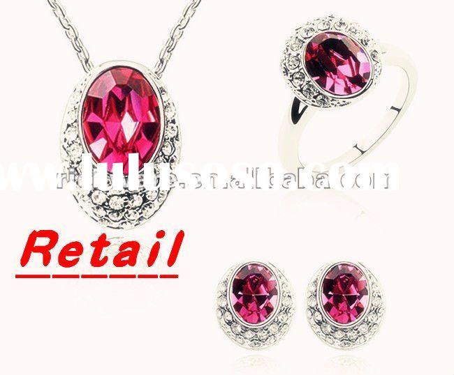 stock,free shipping crystal jewelry